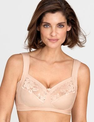 Rintaliivit Lace Support beige, Miss Mary